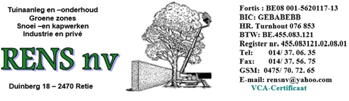 Logo Rens Tuinaanleg & Onderhoud