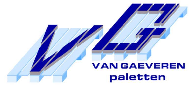 Logo Van Gaeveren Paletten