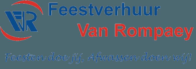 Logo Feestverhuur Van Rompaey