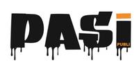 Logo PASI Publi: commercieel drukwerk en raambelettering