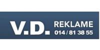 Logo V.D. Reklame