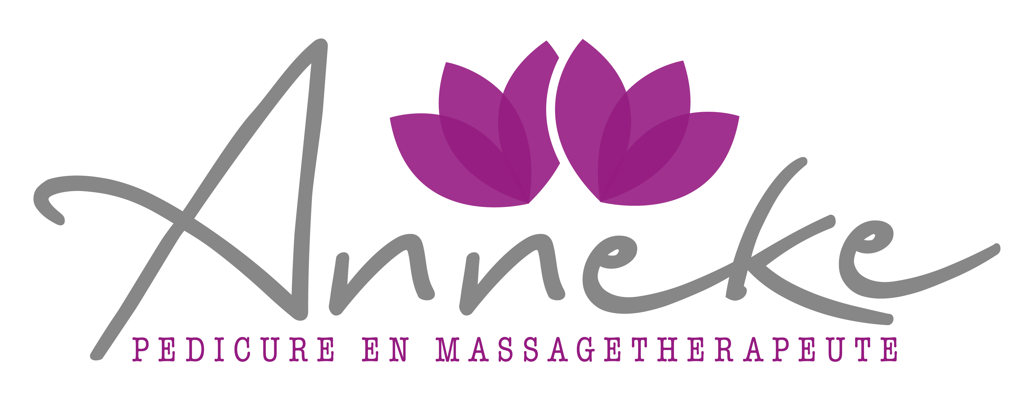 Logo Anneke medische pedicure & massage therapie