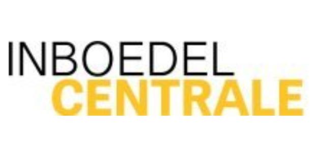 Logo Inboedel Centrale: antiek-retro-design opkoper