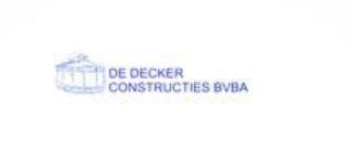 Logo De Decker Constructies bvba