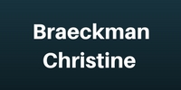 Logo BRAECKMAN CHRISTINE