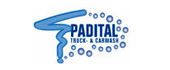 Logo Padital Houthalen-Helchteren Vrachtwagens - Wassen