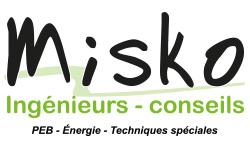 Logo-Misko Ingénieurs-Conseils SRL