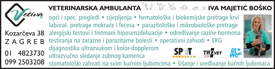 VET-IVA PET d.o.o. VETERINARSKA AMBULANTA PRIVATNE PRAKSE