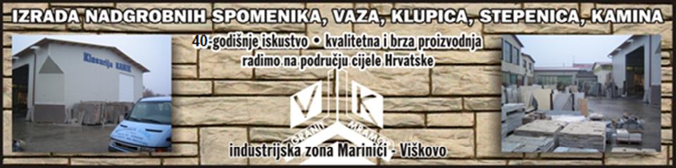 KLESARIJA KAMIK - KAMENOKLESARSKI OBRT VELJKO KATIĆ