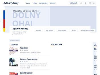 457c2b594 Obec Dolný Ohaj - obecný úrad, Dolný Ohaj - Tel.: +421356582 ...